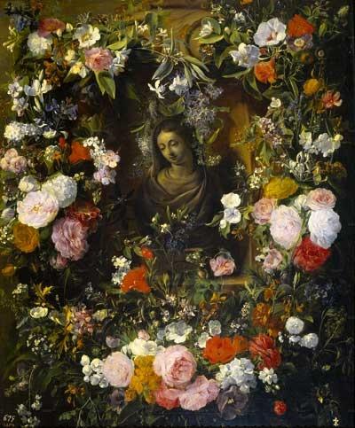 Znalezione obrazy dla zapytania maryja w kwiatach