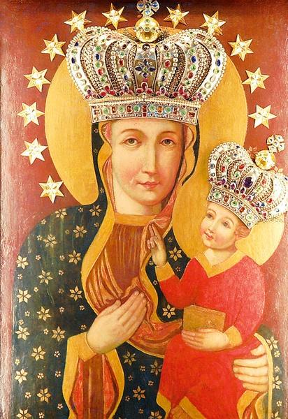 Znalezione obrazy dla zapytania matka boża pszowska