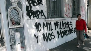 Zamieszki w Chile przed wizytą papieża