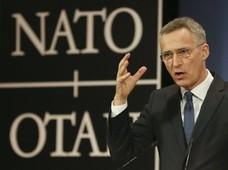 Szef NATO: Coraz większa nieobliczalność Rosji