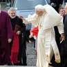Abp Rowan Williams na Monte Cassino