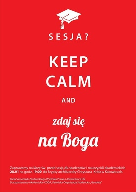 Sesja? Keep calm and...