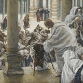 "James Tissot ""Jezus uzdrawia chromego"""