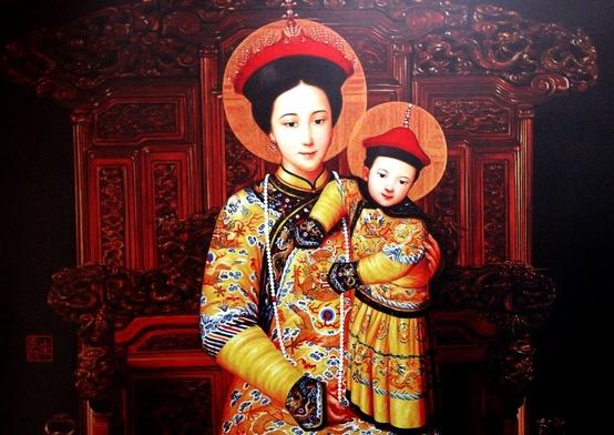 Zobacz Matkę Bożą Cesarzową Chin
