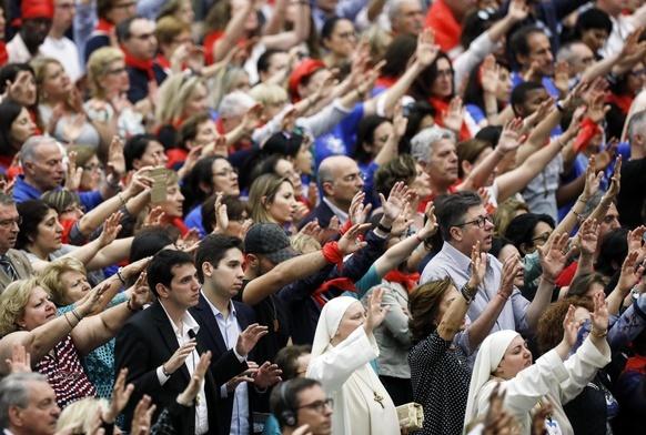 Katolicka Odnowa Charyzmatyczna u papieża Franciszka