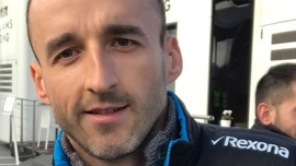 Robert Kubica żegna się z Williamsem