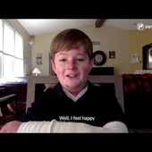 Carson Kissell, a teen with a rare skin condition, moves the world praying the Divine Mercy Chaplet