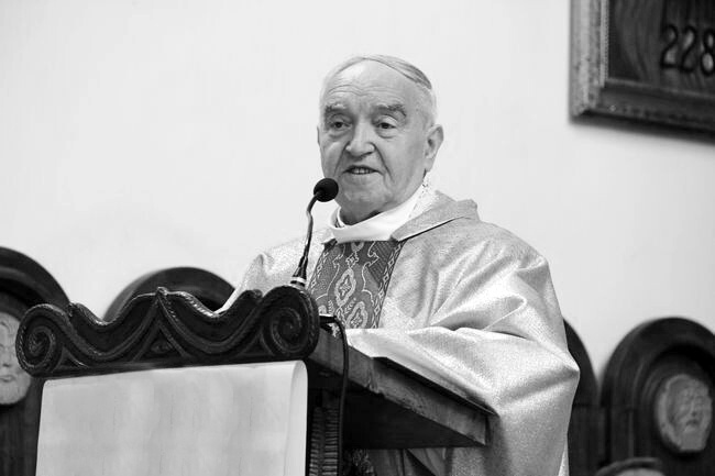 Zmarł ks. prał. Zbigniew Regliński